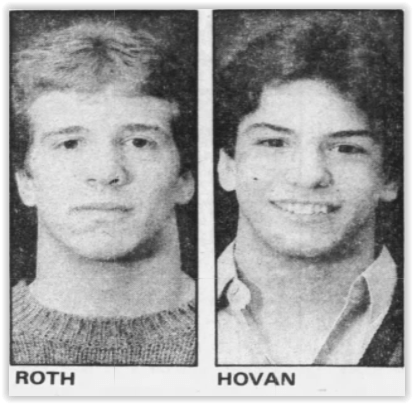 Scott Hovan and Jeff Roth
