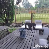 DIY : Square Lattice Fence for Privacy - Lehman Lane