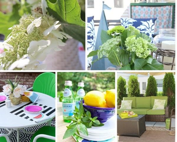 Summer Garden tour and outdoor Spaces Hop