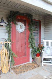 Farmhouse Christmas Front Porch - Lehman Lane