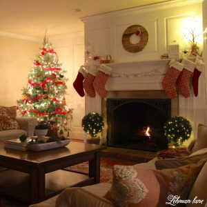 christmas living merry night very tour lane lehmanlane rooms tours decor holiday lehman decorations checking sure thanks much visit decorating