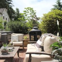 Back Patio Makeover Reveal - Lehman Lane