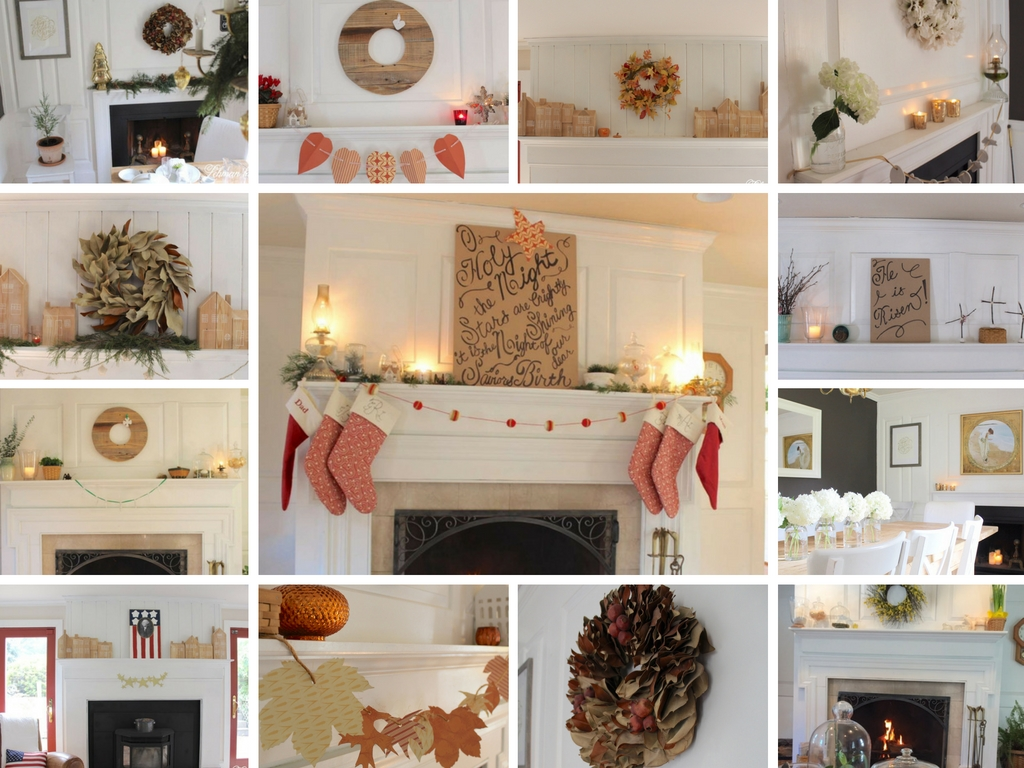 Fireplace Mantel Decorating Ideas For The Whole Year