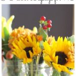 Diy Simple Flower Arrangement Tips 3 Flower Displays In 15 Minutes From The Grocery Store Lehman Lane