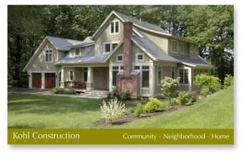 Print ad for Kohl Construction