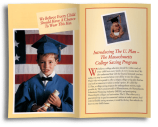 College savings plan (Darby O'Brien Advertising)