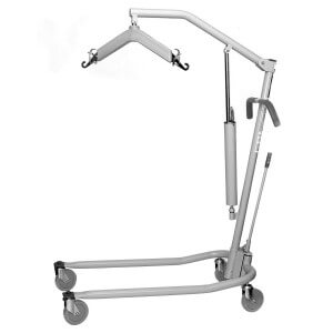 A hoyer lift  on Amazon. Very similar to the one we have.