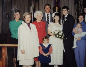 Ted and Anita got married on Valentine's Day. He passed away on Christmas.