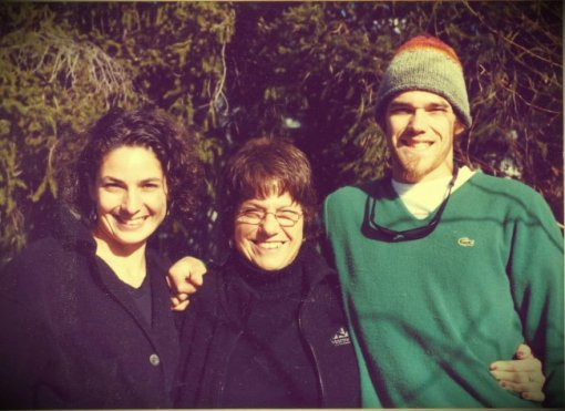 Barbara with her two children: Nicole and Morgan.