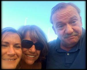 l-r: Azalea, Barbara and John
