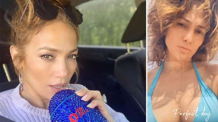 Jennifer Lopez Stuns While Going Makeup-Free For