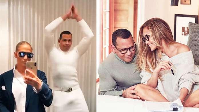 Watch: Jennifer Lopez and Alex Rodriguez Take 'Flip the Switch' Challenge