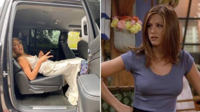 Jennifer Aniston On Her Role As Rachel Green In FRIENDS