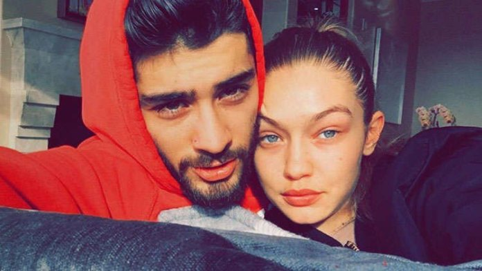 Gigi Hadid Finally Showed Off Her 7th Month Bare Baby Bump On Instagram Live Session