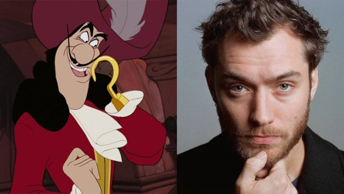 Jude Law To Play Captain Hook In Disney's Peter Pan Live Action Film?