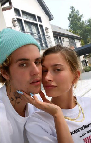 Justin and Hailey celebrated 2nd wedding anniversary
