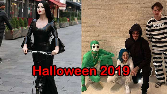 Check Out the Best Celebrity Halloween Costumes of 2019