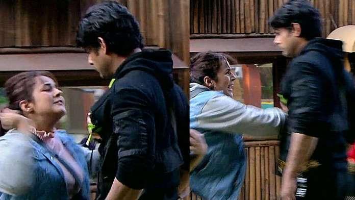 Bigg Boss 13: Shehnaaz Gill Pushes Sidharth Shukla and screams 'I hate you'
