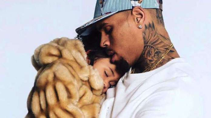 Chris Brown Pampers Daughter Royalty So She Doesn't Feel Left Out!