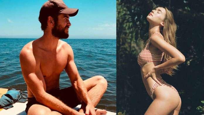 CONFIRMED: Liam Hemsworth Kisses Gabriella Brooks On Beach Date