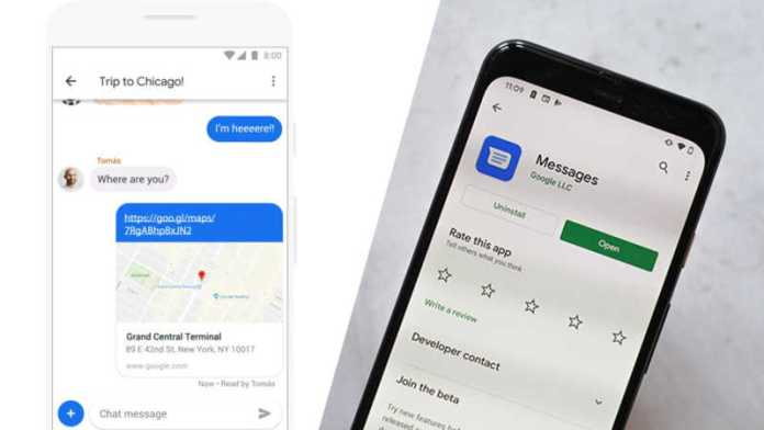 Google Messages working on end-to-end encryption for RCS texts