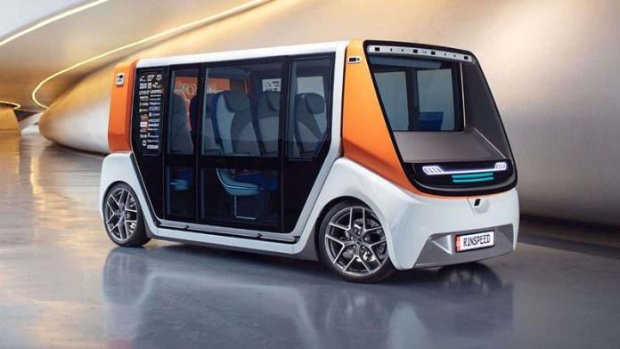UK begins testing unsupervised driverless transport pods