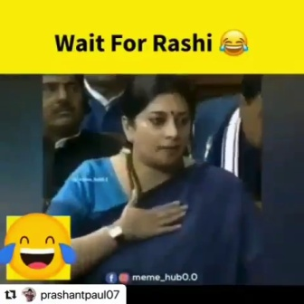 Smriti Irani Shares Hilarious Spoof Version Of Viral Meme 'Rasode Mein Kaun Tha'