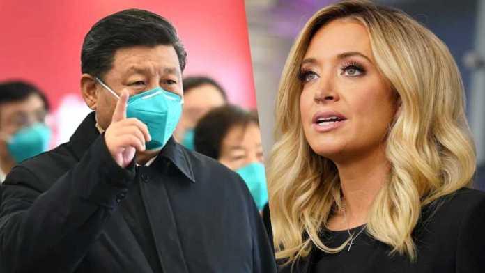 White House press secretary says, It's no secret that China mishandled coronavirus situation