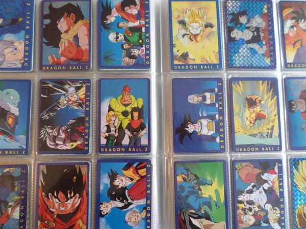 Carte dragon ball serie 1