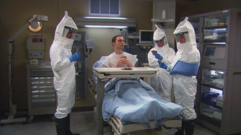 """Mieux vaut prévenir que guérir """"The Big Bang Theory"""""""
