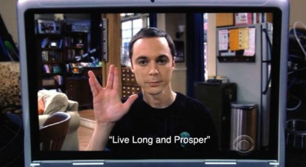 "Aurevoir ""The Big Bang Theory"""