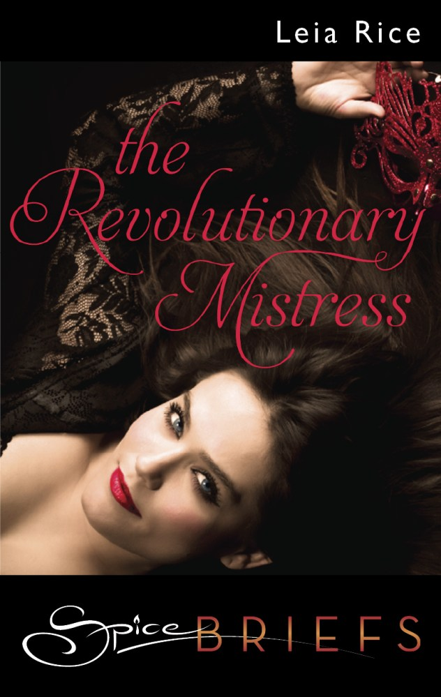 New Cover Art for The Revolutionary Mistress!