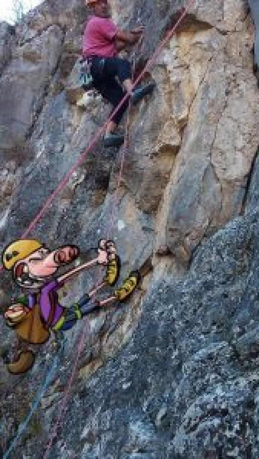 Almondróguez-escalador