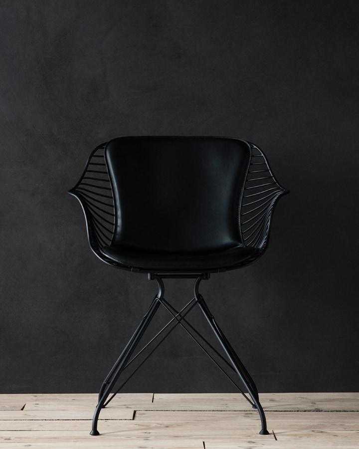 Wire Dining Chair  Leibal