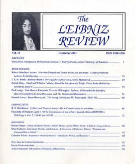 Vol. 11 (2001)