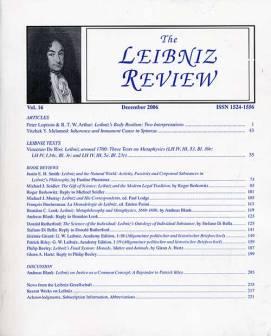 Vol. 16 (2006)