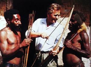 Wo immer er war, das Thema Jagd und Waffen war immer ein Eisbrecher, auch wenn es keine gemeinsame Sprache gab.