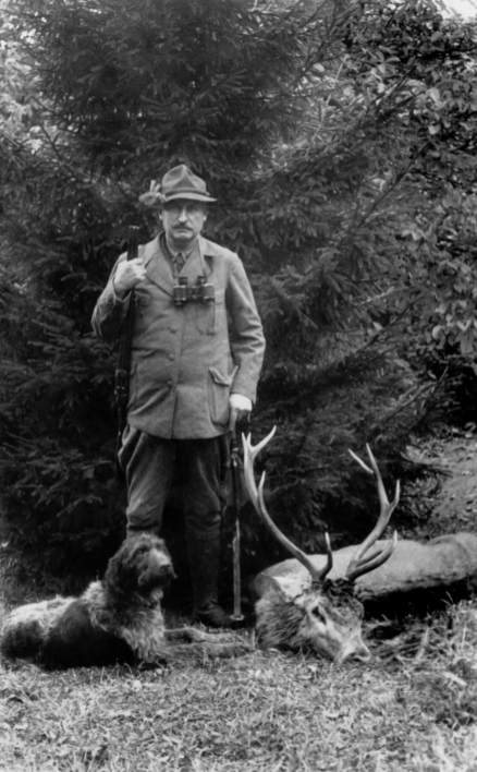 Ernst Leitz was a passionate hunter