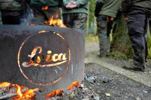 Leica fire place