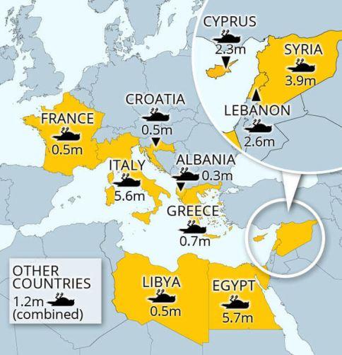 birdmap-killing-zones-Europe-copyright-Birdlife-International