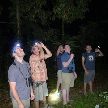 night-hiking