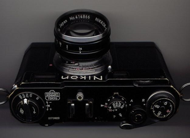 Nikon S2 black paint