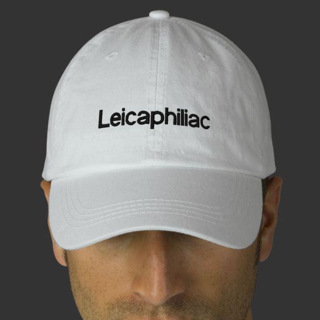 leicaphiliac hat white