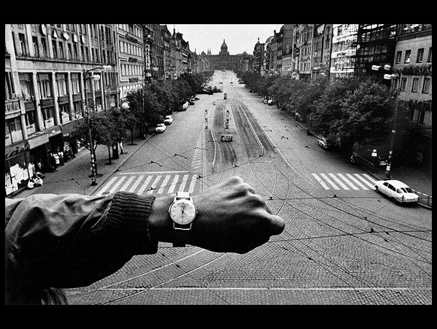 Josef Koudelka's Wristwatch