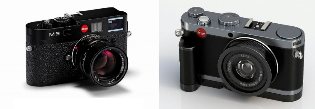 Leica M9 & Leica X1 (click for larger view)
