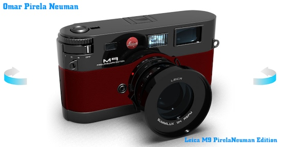 Leica M9 pirela neuman edition Leica R10 and M9 design concepts