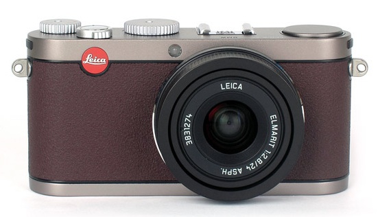 leica x1 bmw limited edition camera front Leica X1 BMW limited edition camera