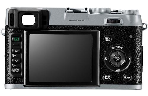 fuji x100 back Fuji X100 vs. Leica X1 specs comparison