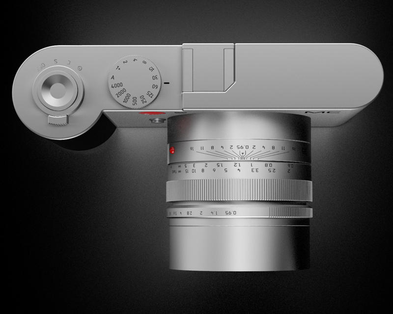 Leica Mirrorless APS C camera concept 6 Detailed renderings of the Leica Mirrorless APS C camera concept