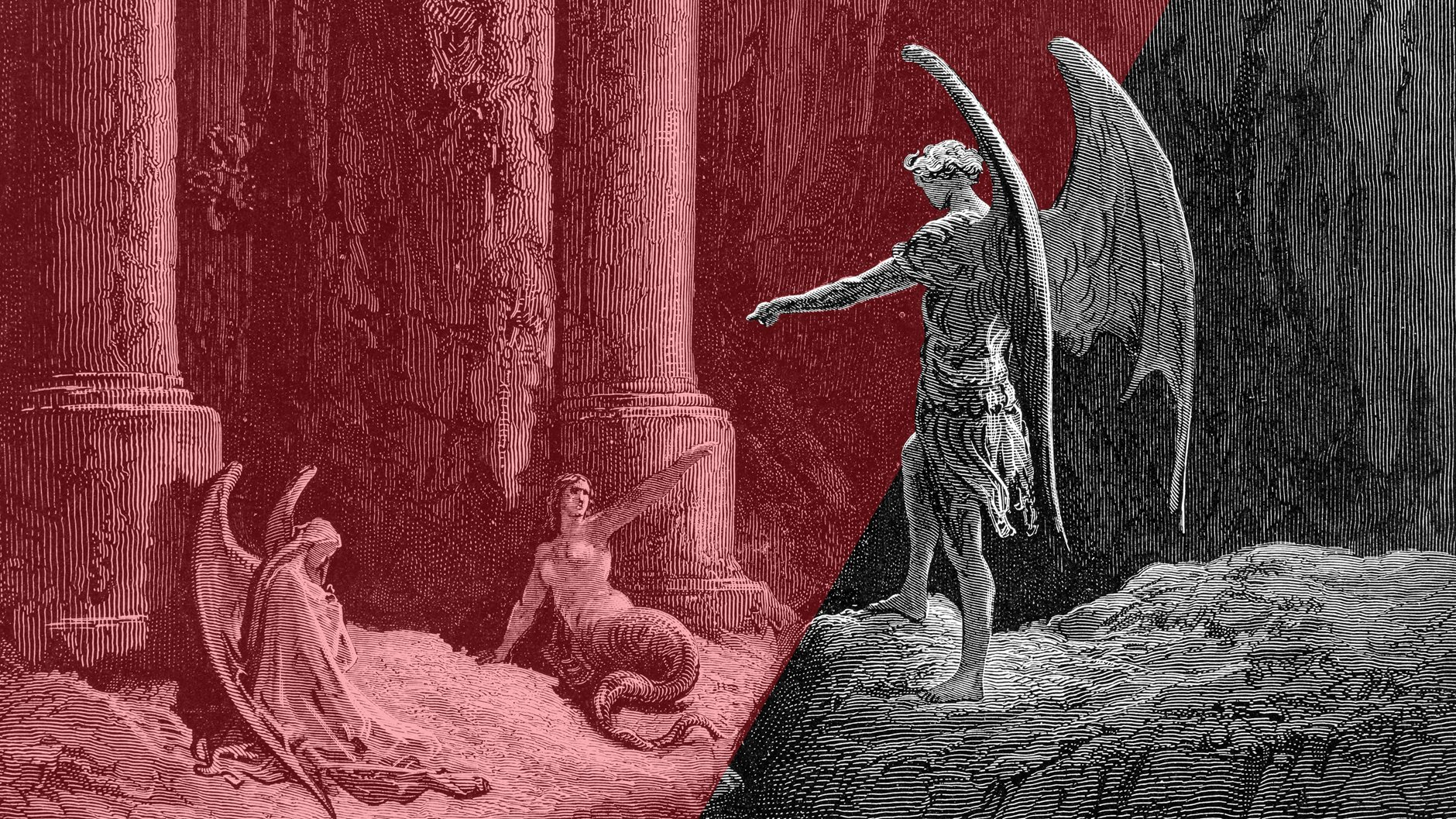 Engraving by Gustave Dore.